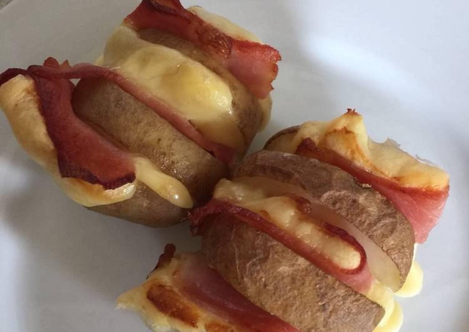 Baby Bacon and Cheese Jackets
