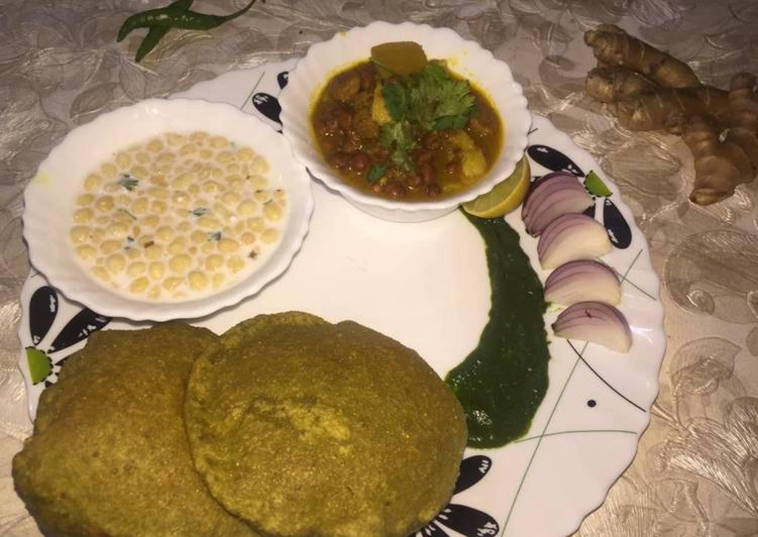 Healthy Chana Soya Curry