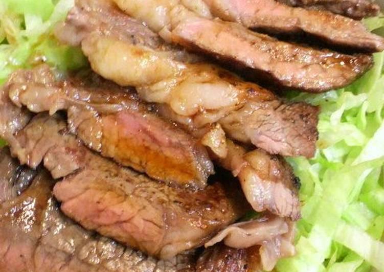 Umami-Filled but Inexpensive Beef Steak Bowl