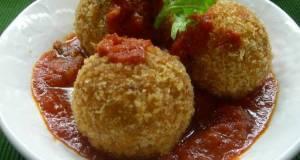 Naples Style Rice Croquettes Arancini