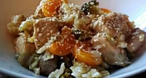 Mandarin Pork With Broccoli