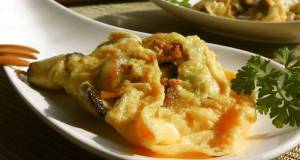 Herb  Shiitake Cheese Omelette