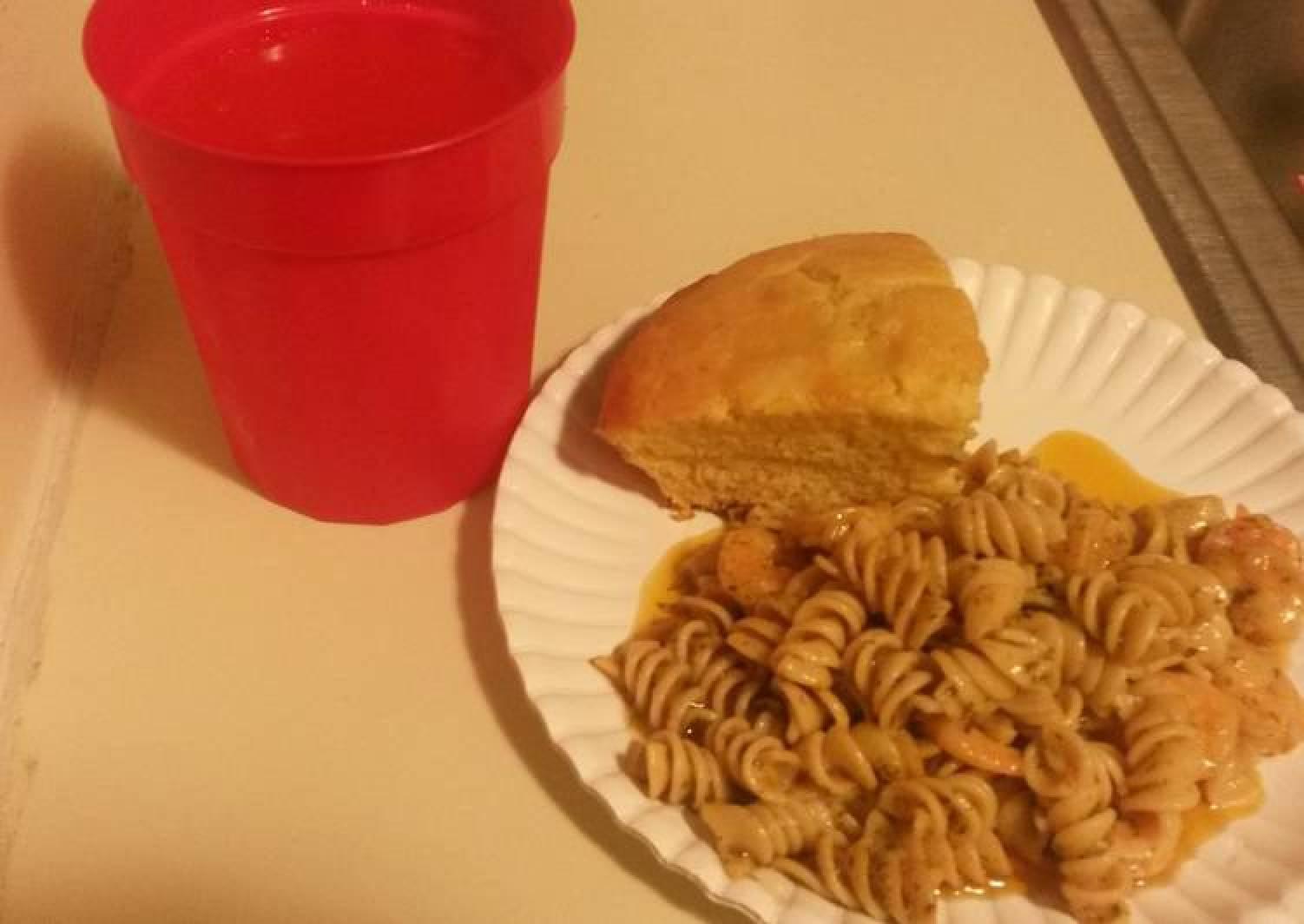 Shrimp Scampi w/ Rotini Noodles
