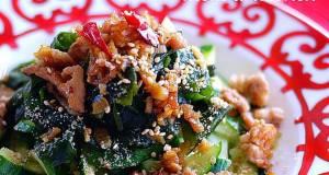 A Stamina-boosting Cucumber Salad with Pork