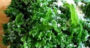 Very Nutritious and Very Easy Kale  Cheese Salad