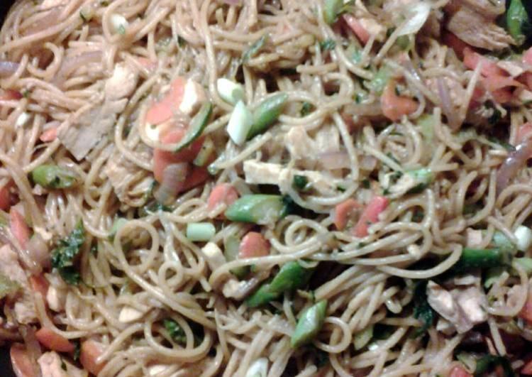 Sammie's Chicken and Veggie Lomein