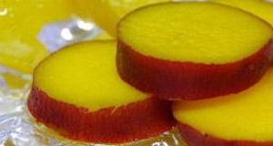 Easy Sweet Potatoes Stewed in Orange Juice