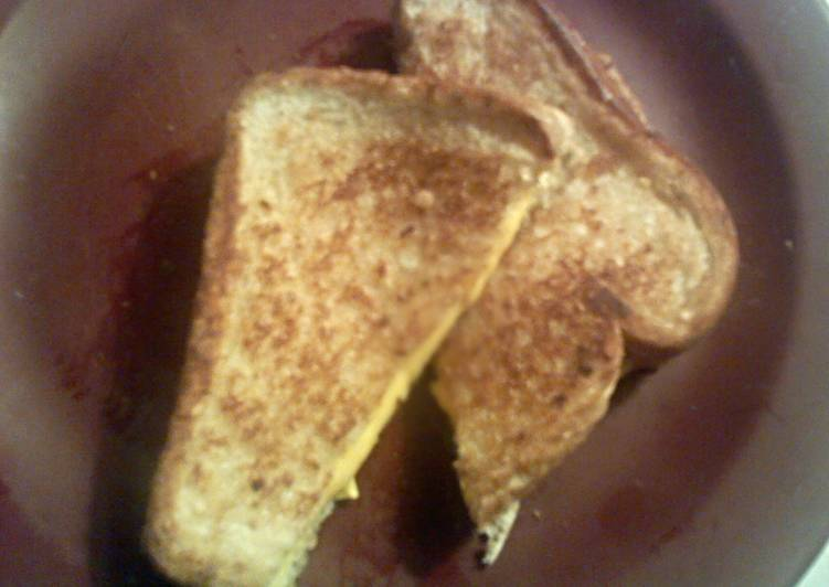 Crazy Good Grilled Cheese Sandwich