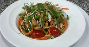 Kanyas Sunflower Sprouts Salad