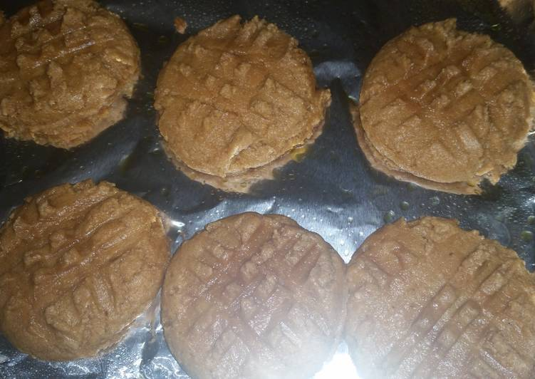 Low carb peanut butter cookies - 2