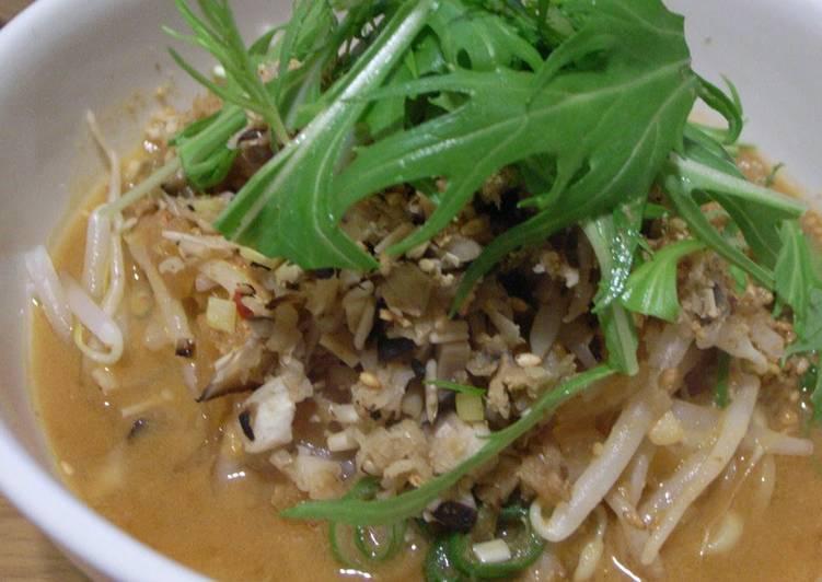 Vegetarian Dan Dan Noodles with Shredded Daikon