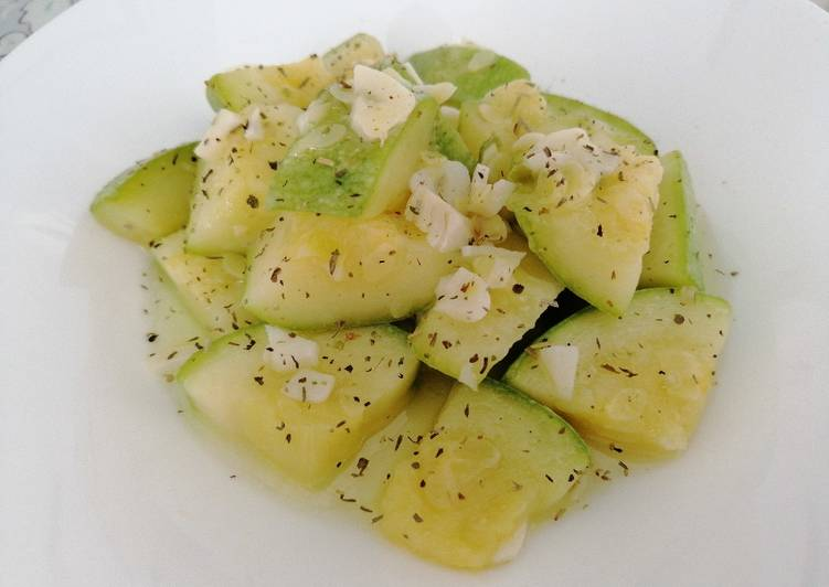 Easiest Way to Make Super Quick Homemade Garlic Courgette