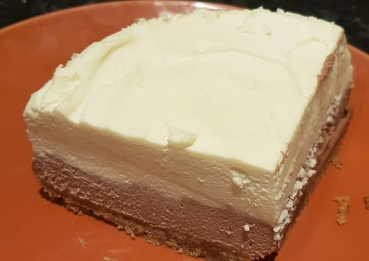 Simple Way to Prepare Speedy Double Chocolate Cheesecake