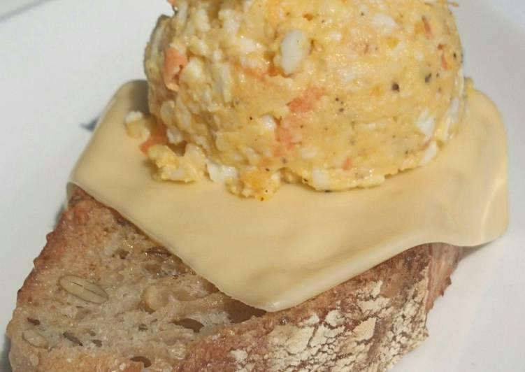 Egg Salad with Coconut Milk Diet Brunch Sandwich / DAY 3
