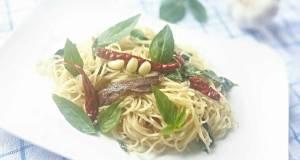 Anchovies and Basils Pasta