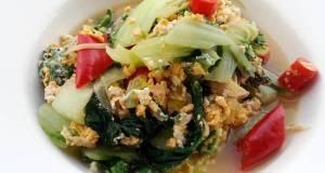 Spicy Bak Choy With Eggs