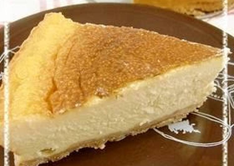 Simple, Easy, Rich Cheesecake