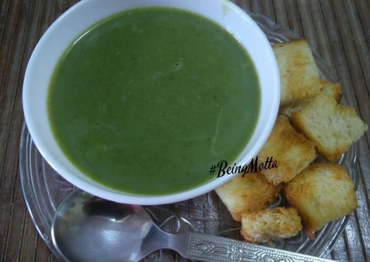 Green Vegetables Soup
