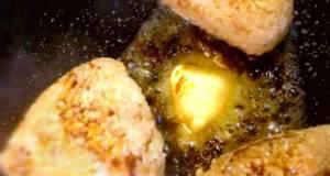 Crispy Butter Rice Balls