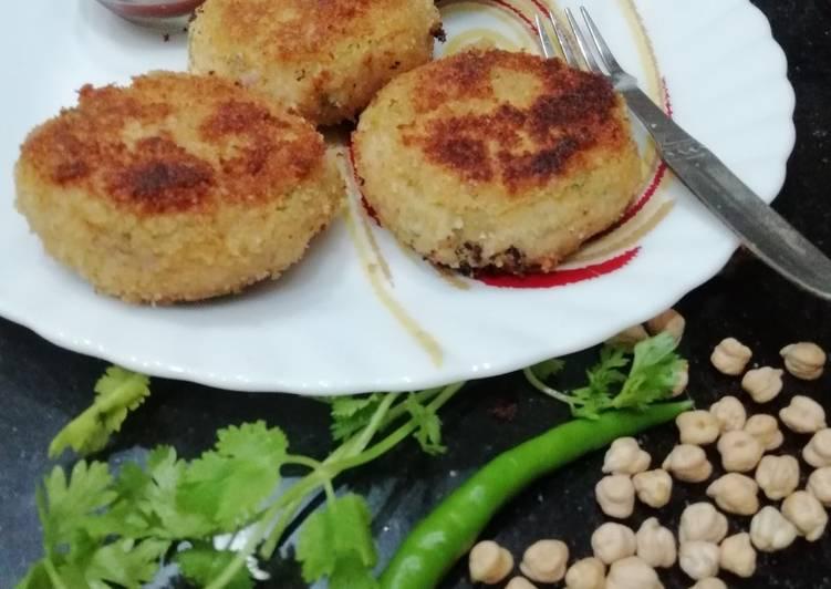 Crispie Chickpea Kebab