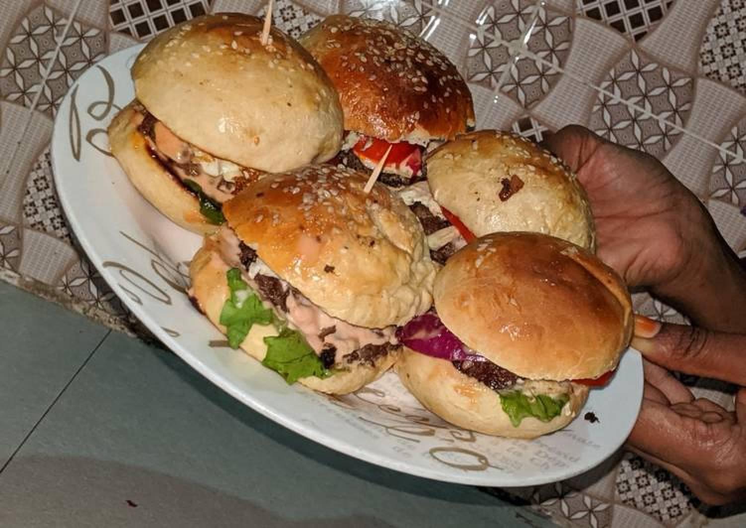 How to Prepare Super Quick Homemade Home made burger  Delish has