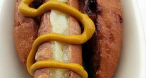 Onion And Cheese Hotdog