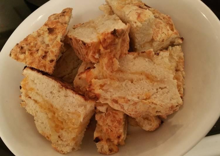Cheddar Onion Soda Bread