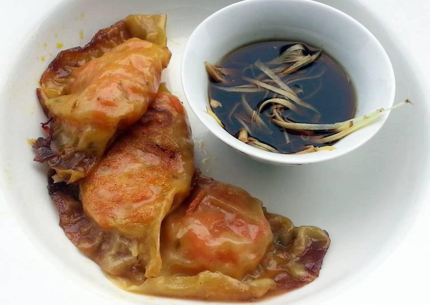 Pot Sticker Dumpling Appetizer