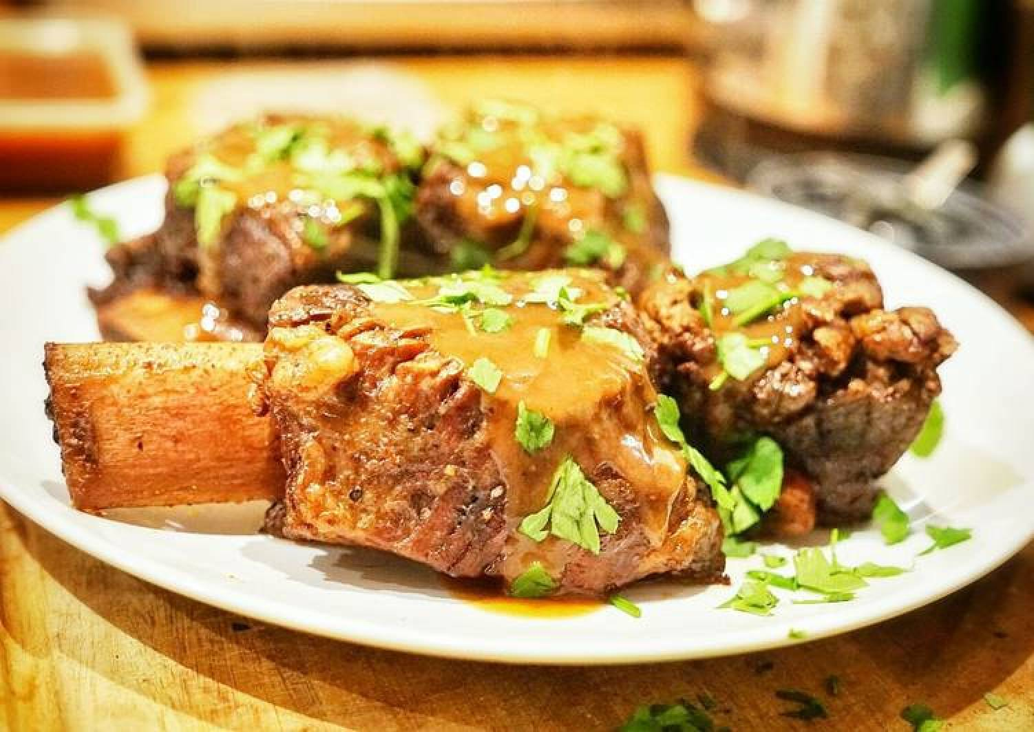 Beef Short Ribs in Red Wine