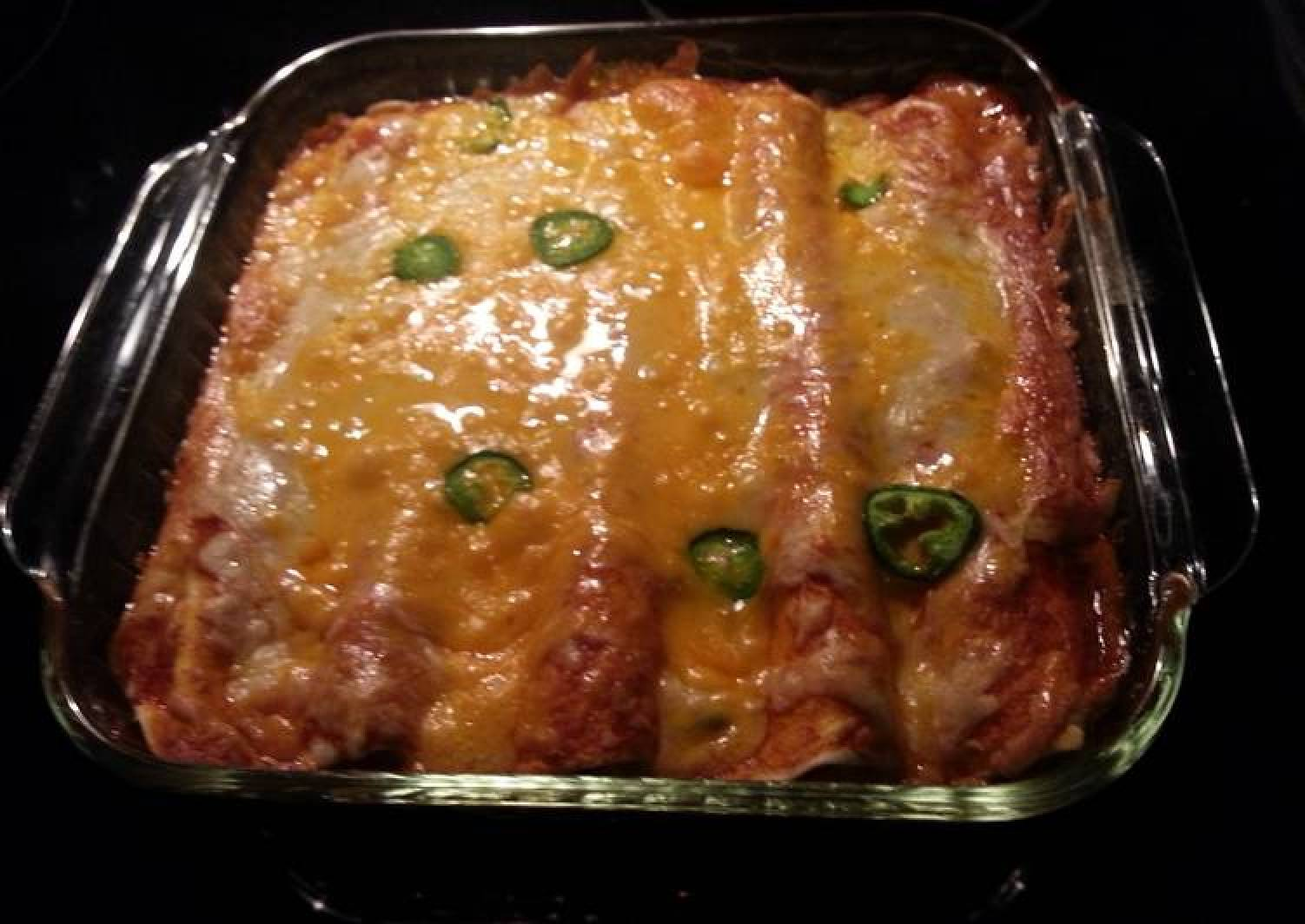 Turkey enchiladas!