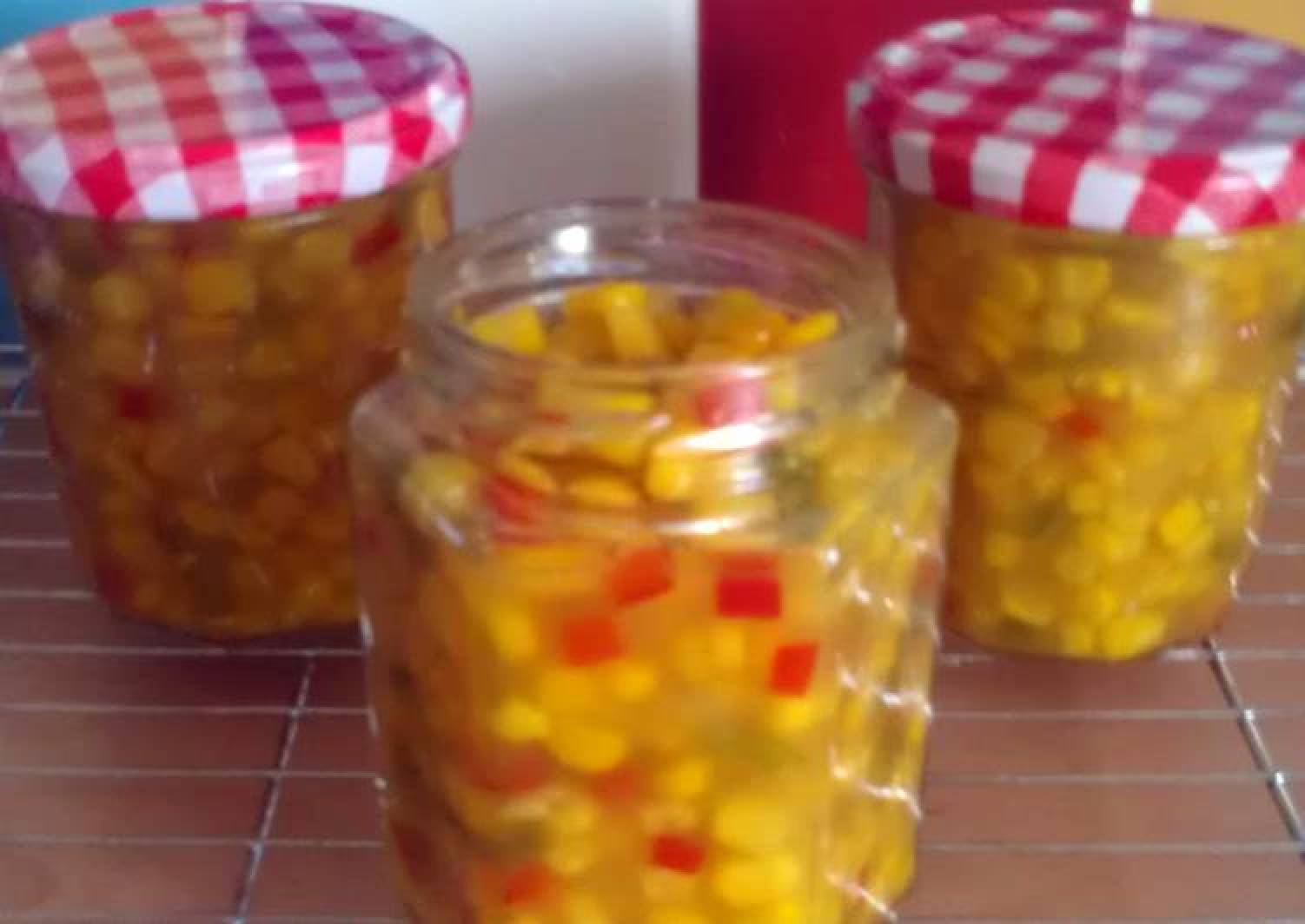 Vickys Sweetcorn Relish, GF DF EF SF NF