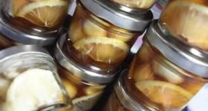 Honey  Lemon Garlic Pickles