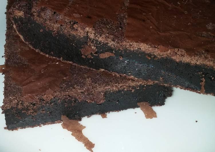 Flourless fudge brownie (gluten free)