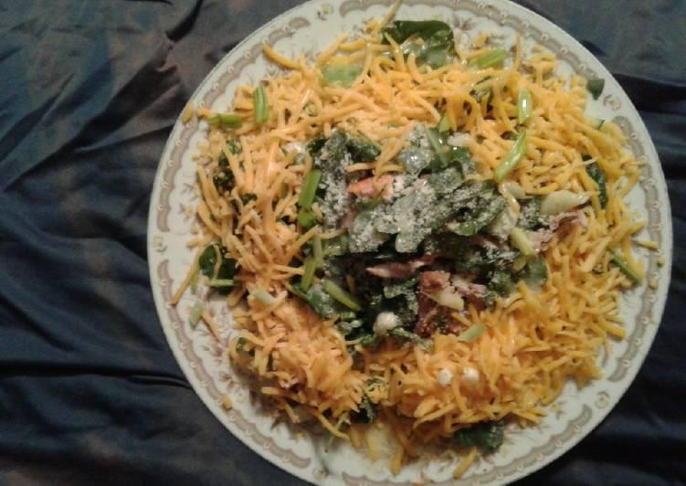 Quick low carb salad