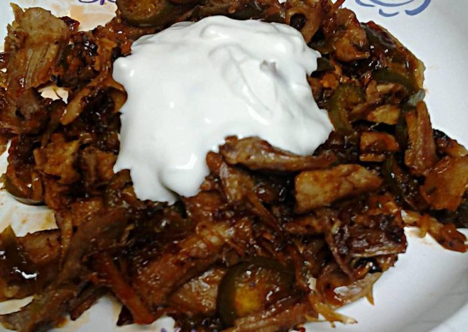 Spicy leftover turkey