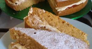 Vickys Free-From Victoria Sponge Cake GF DF EF SF NF