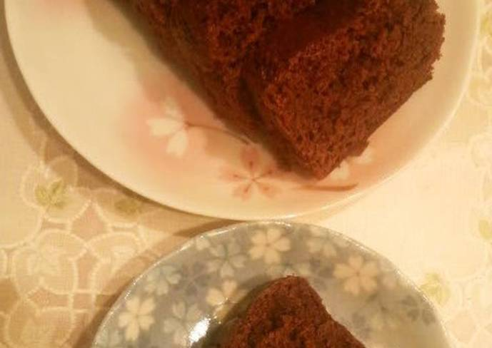 Egg & Butter-Free Easy Chocolate Cake