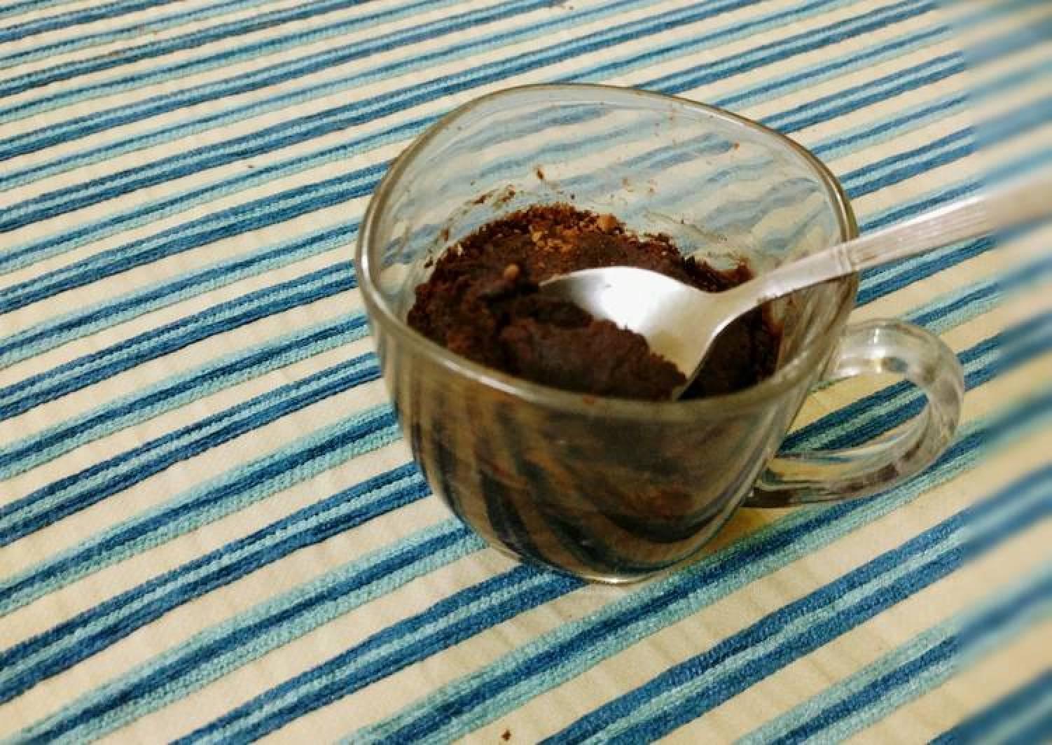 Eggless Chocolate & PB Mug Cake