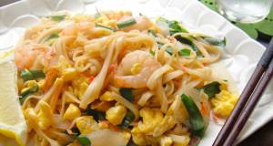 Easy Pad Thai with Dried Udon Noodles