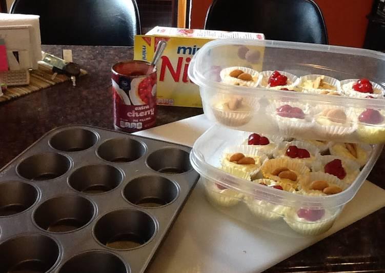 How to Prepare Super Quick Homemade Cheesecake Cupcakes!