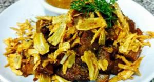 Kanyas Crispy Bacon with Garlic and Pepper