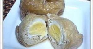 Abura-age and Egg Simmered Pouches Kinchaku