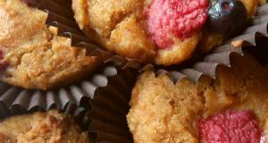 Vickys Berry Spiced Pumpkin Muffins GF DF EF SF NF