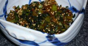 Rice Condiment Daikon Radish Leaves Turnip Greens for Fridge Stocking