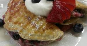 Fruit Stuffed Pancakes