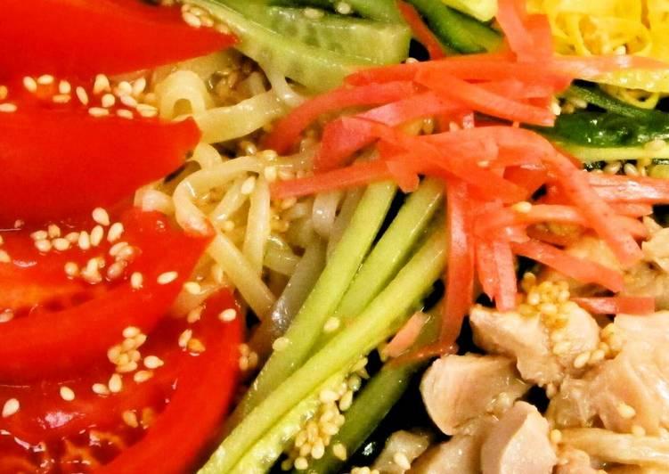 Hiyashi Chuuka Chilled Chinese-Style Noodles