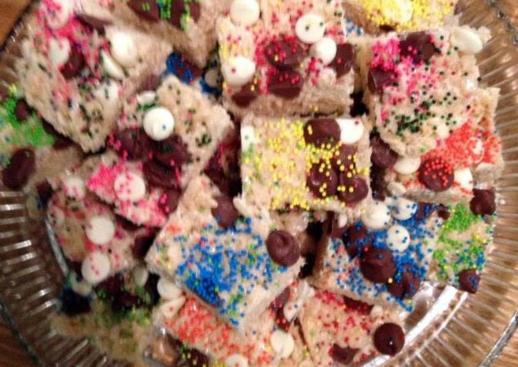 The Best White Chocolate Rice Krispy Treats By Angie