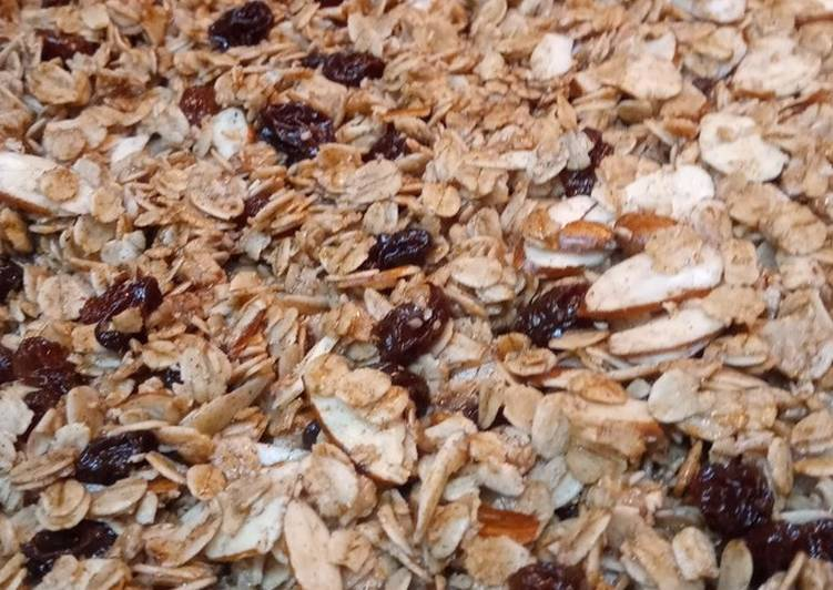 Simple Way to Make Super Quick Homemade Healthy Granola