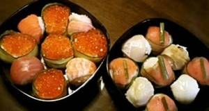 Instant  Easy Guest Food Sushi Balls
