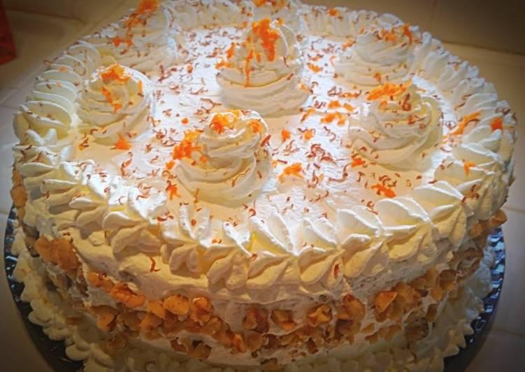 Ray's Pineapple Cream Carrot Cake